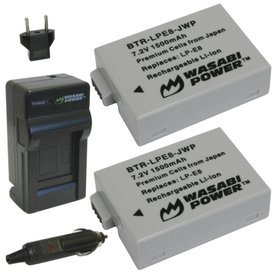Wasabi Power Kit for Canon LP-E8