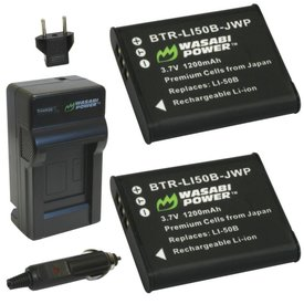 Wasabi Power Kit for Pentax D-LI92