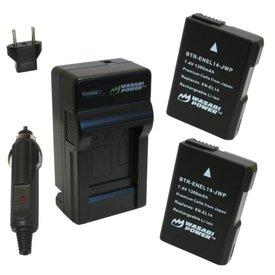 Wasabi Power Kit for Nikon EN-EL14