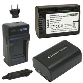 Wasabi Power Kit for Sony NP-FV50