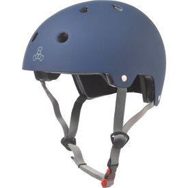 Triple 8 Brainsaver Dual - EPS - Helm blauw