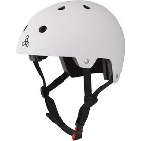 Triple 8 Brainsaver Dual - EPS - Helm wit