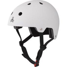 Triple 8 Brainsaver Dual - EPS - Helm wit