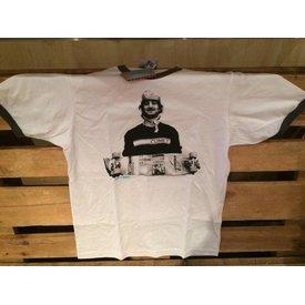 Comet Retro ringer t-shirt