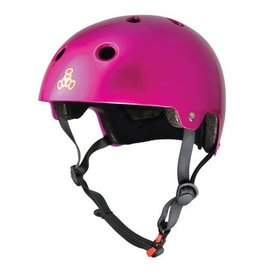 Triple 8 Brainsaver dual - EPS - helm Pink Metallic
