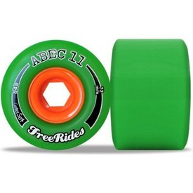 Abec11 Classic Freerides Centerset 72 mm Wheels