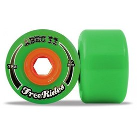 Abec11 Classic Freerides Offset 72mm wheels