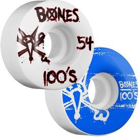 Bones Wheels 100's Natural 9 - 100A