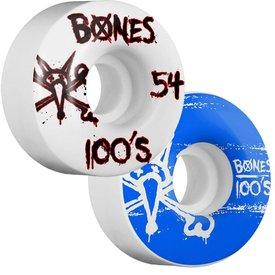 Bones Wheels 100's Natural 9 - 100A