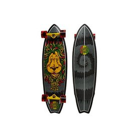Santa Cruz Rasta Lion Shark Cruzer