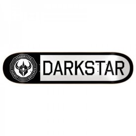 Darkstar Timeworks Sl White/Black Skateboard Deck 8.0