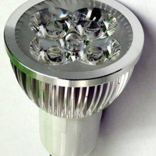 Led Spotlamp GU10 4 W daglicht wit op=op
