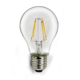 Filament A60 8W warmwit led gloeidraad lamp