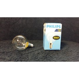 Philips Gloeilamp E14 15W helder wit