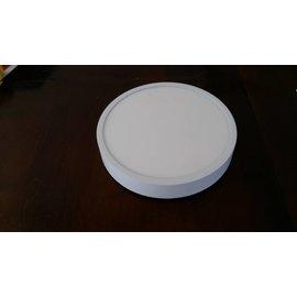 Plafondlamp.Plafonniere luxe witmetaal smalle rand 18W witkleur 4000K normaal wit