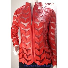 Sensiri  purefashionshop Lederen en Suède jasjes en vesten