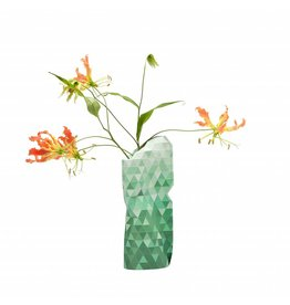 Paper Vase Cover Green Gradient (small)