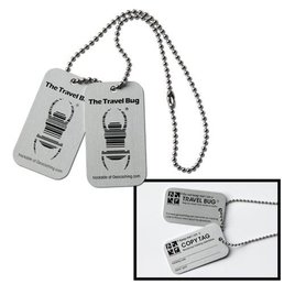 Groundspeak Travel Bug® Tag