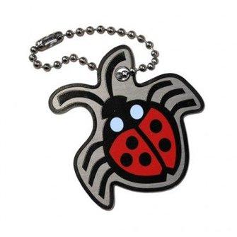 Cache Advance Trackable tag Cachekinz™ insect: Lieveheersbeestje (glitter)