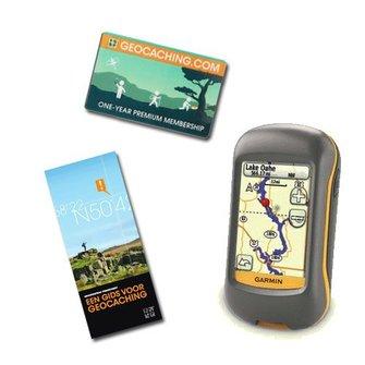 Garmin GPS geocaching startpakket