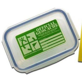 Groundspeak Small geocache container - 0,3 liter