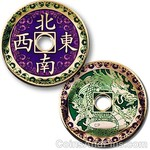 Coins and Pins Geocoin Chinese Draak