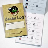 Cache Zone Logboek small - Signal the Frog