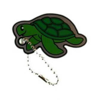 Cache Advance Trackable tag Cachekinz™ - Zeeschildpad