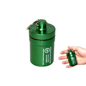 CacheQuarter Small container - ALCON (groen)