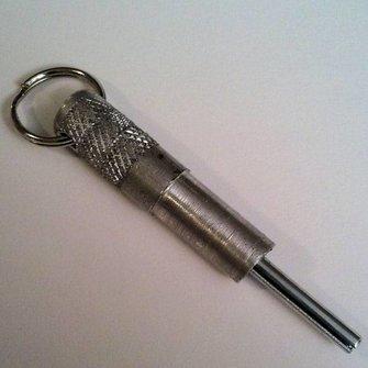 Cache Advance Logroller sleutelhanger