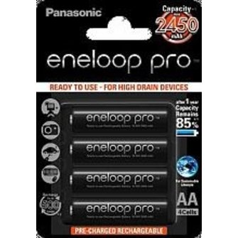 Panasonic Eneloop Pro AA 2450mAh (4 st)
