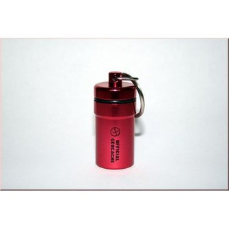 CacheQuarter Micro container - NACRO (rood)