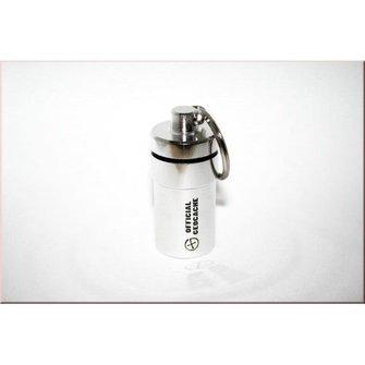 CacheQuarter Micro container - NACRO (zilver)