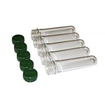 CacheQuarter Micro container PETling met schroefdop - groen