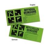 Groundspeak Cache label - medium