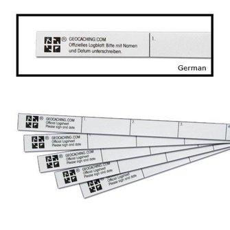 Groundspeak Logstrip nano/micro (35 logs, 5 st)