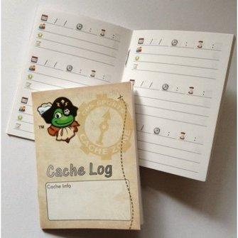 Cache Zone Logboek regular - Signal the Frog