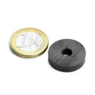 Supermagnete Ferriet ringmagneet - 22 mm