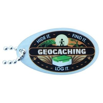 Groundspeak Groundspeak Travel 'Hide it-Find it-Log it' tag