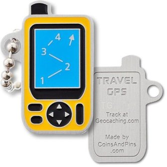 Coins and Pins Trackble tag - GPS