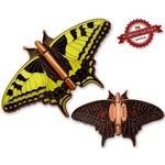 CacheQuarter Vlinder geocoin Koninginnenpage - koper XLE