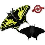 CacheQuarter Vlinder geocoin Koninginnenpage - zwart XLE