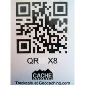 Cache Advance QR-Code talker - klein