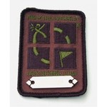 Cache Zone Trackable patch - Geocaching logo camouflage