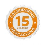 Groundspeak Pin 15 jaar Geocaching