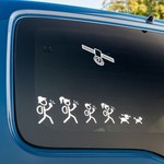 Cache Advance Decal sticker Cachers familie