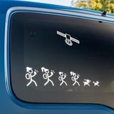 Cache Advance Decal sticker Cachers familie