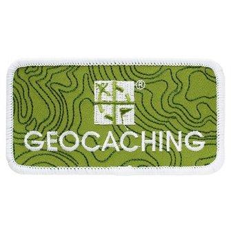 Groundspeak Logo patch - velcro klittenband
