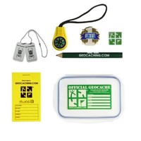 Complete geocache container sets