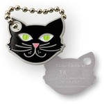 Coins and Pins Travel Kat tag